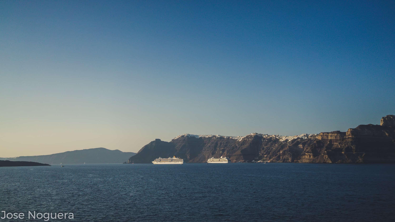Viaje a Grecia: Caldera de Santorini
