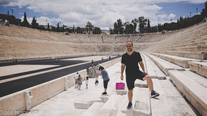 Viaje a Grecia: Estadio Panathinaiko