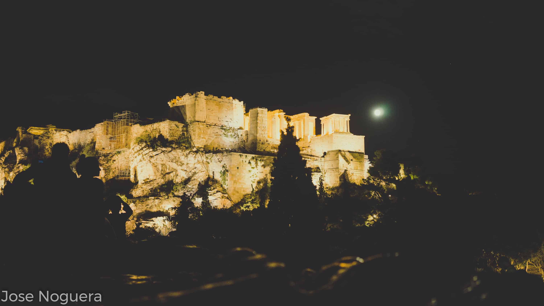 Viaje a Grecia: La Acrópolis desde Filopappos