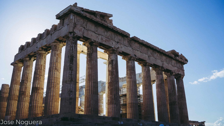 Viaje a Grecia: Partenón